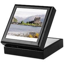 Eilean Donan castle 4815 , Scotland Keepsake Box