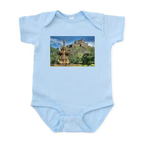 Edinburgh Castle 98 , Scotland Infant Bodysuit