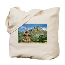 Edinburgh Castle 98 , Scotland Tote Bag