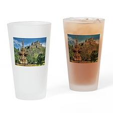 Edinburgh Castle 98 , Scotland Drinking Glass