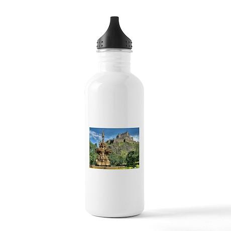 Edinburgh Castle 98 , Scotland Stainless Water Bot