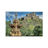 Edinburgh castle Stickers & Flair