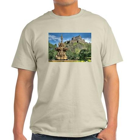 Edinburgh Castle 98 , Scotland Light T-Shirt