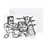 Funny Monsters Greeting Cards (Pk of 10)