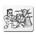 Funny Monsters Mousepad