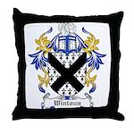 Wintoun Coat of Arms Throw Pillow