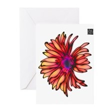 Glowing Daisy Greeting Cards (Pk of 10)