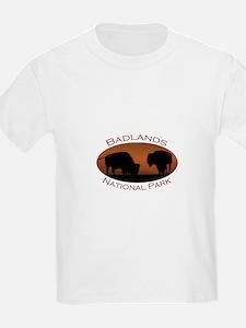 Badlands National Park...Bison Sunset T-Shirt