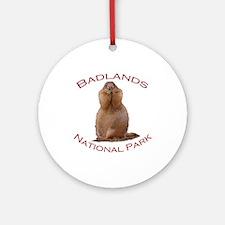 Badlands National Park...Funny Prairie Dog Ornamen