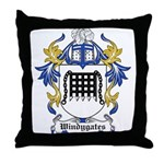 Windygates Coat of Arms Throw Pillow