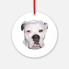 American Bulldog copy.png Ornament (Round)