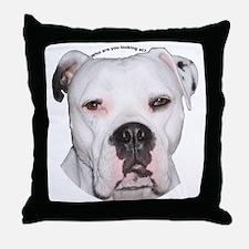 American Bulldog copy.png Throw Pillow