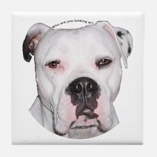 American Bulldog copy.png Tile Coaster