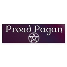 Proud Pagan Bumper Sticker