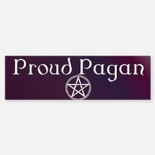Proud Pagan Bumper Stickers