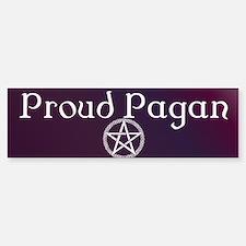 Proud Pagan Sticker (Bumper)