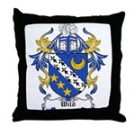 Wild Coat of Arms Throw Pillow