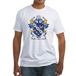 Wild Coat of Arms Fitted T-Shirt