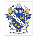 Wild Coat of Arms Small Poster