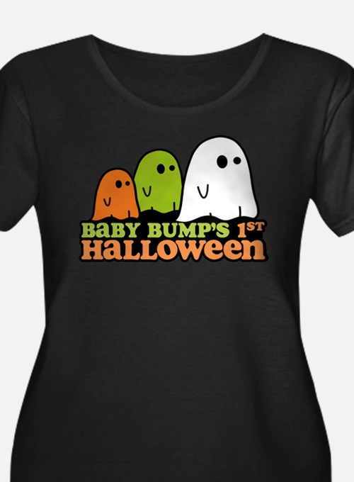 Baby Bumps 1st Halloween Plus Size T-Shirt