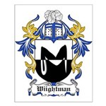 Wiightman Coat of Arms Small Poster