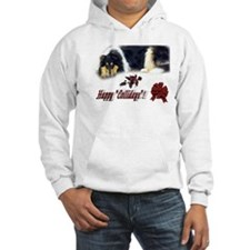 Rough Collie Christmas Hoodie