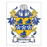 Whitehead Coat of Arms Small Poster