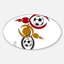 SYOTN design #40 Sticker (Oval)