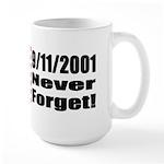 Large Mug - 9/11: Never Forget