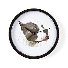 American pit bull terrier copy.png Wall Clock