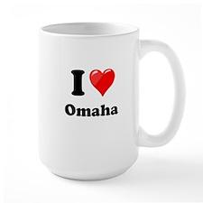 I Heart Love Omaha.png Mug