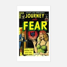 Journey Into Fear #3 Sticker (Rectangle)