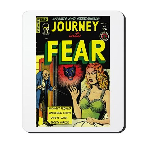Journey Into Fear #3 Mousepad