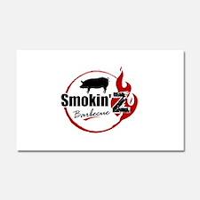 Smokin' Z Barbecue Car Magnet 20 x 12