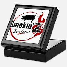 Smokin' Z Barbecue Keepsake Box