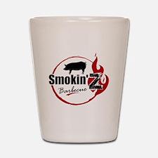 Smokin' Z Barbecue Shot Glass