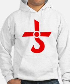 CROSS OF KRONOS (MARS CROSS) Red Hoodie