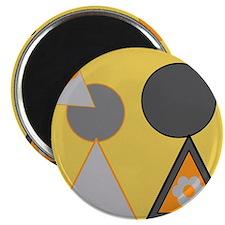 """Desigz Flyz design #13 2.25"""" Magnet (10 pack)"""
