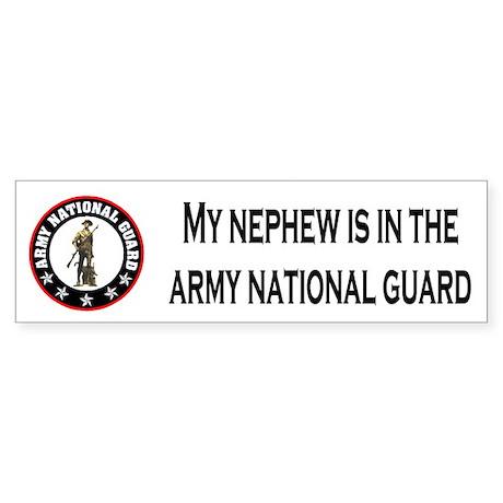 Bumper Sticker: Nephew In National Guard