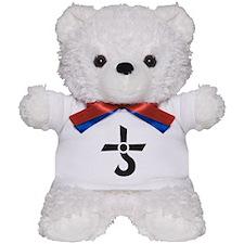 CROSS OF KRONOS (MARS CROSS) Black Teddy Bear
