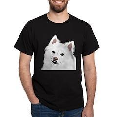 Eskie on Black Tees! Black T-Shirt