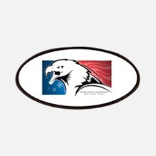 Cesar Chavez - American Eagle Logo Patches