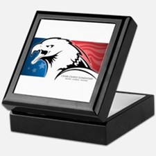 Cesar Chavez - American Eagle Logo Keepsake Box