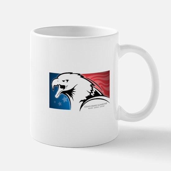 Cesar Chavez - American Eagle Logo Mug