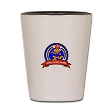 Cesar Chavez - Uncle Sam Logo Shot Glass