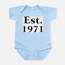 Est. 1971 Infant Creeper