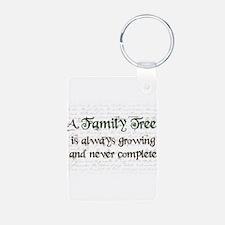 a Family Tree is... Aluminum Photo Keychain