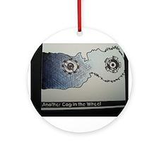 ONU Cog Wheel Art Ornament (Round)
