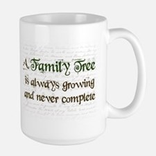 a Family Tree is... Mug