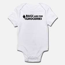 Grocery Bags Infant Bodysuit